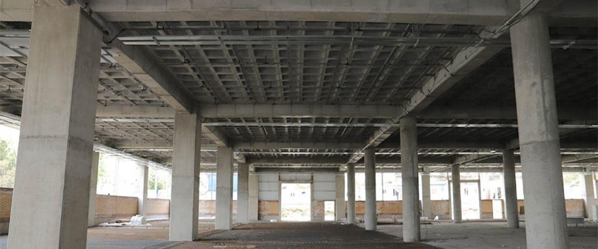 آرماتوربندی سازه های بتنی سقف وافل