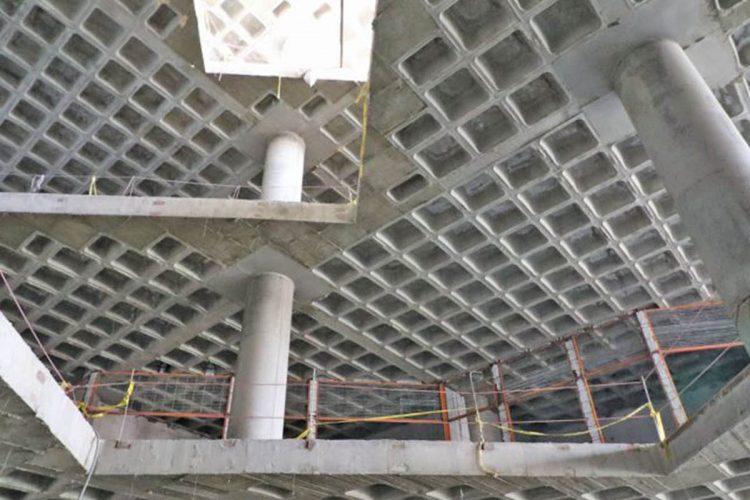 دال بتنی در ساختمان سقف وافل چیست؟