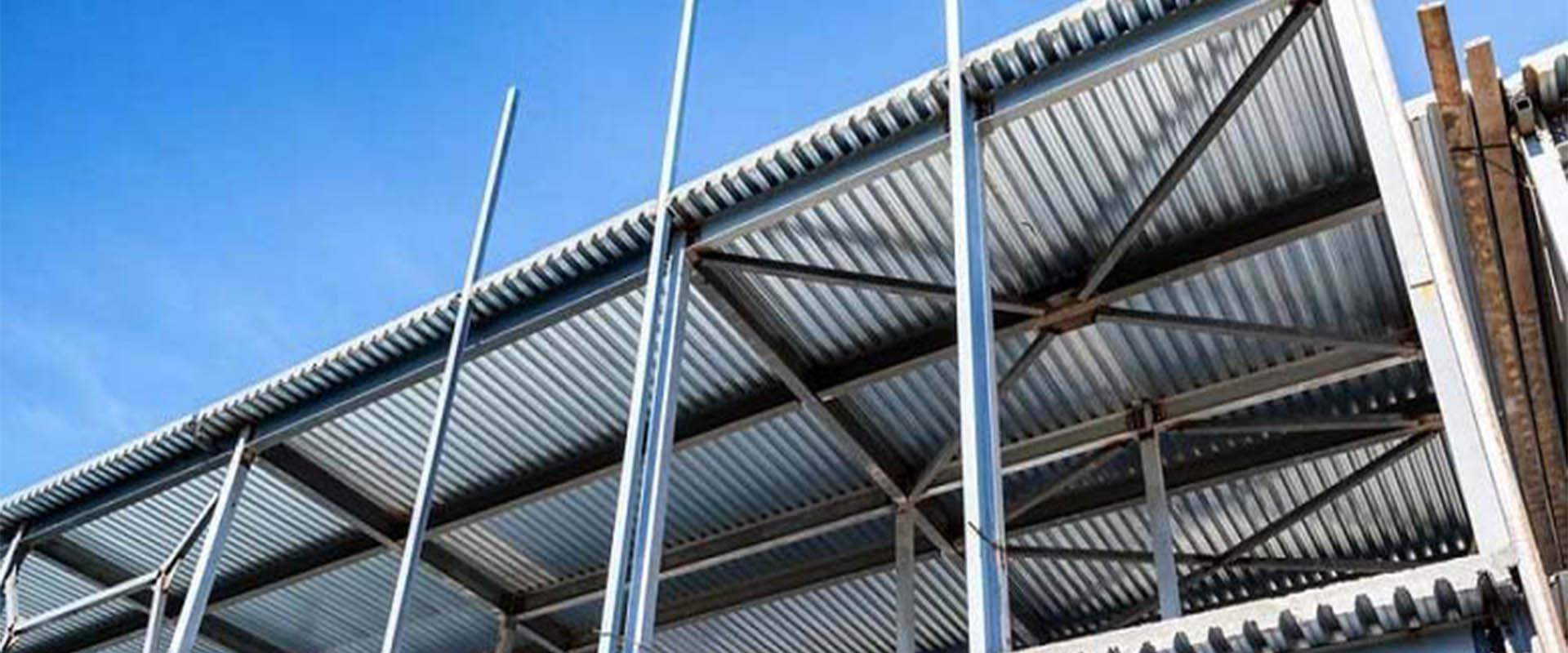 سقف عرشه فولادی, سقفی با ورق های گالوانیزه چیست؟