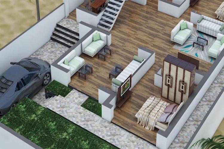 نقشه استاندارد خانه سقف وافل چیست؟
