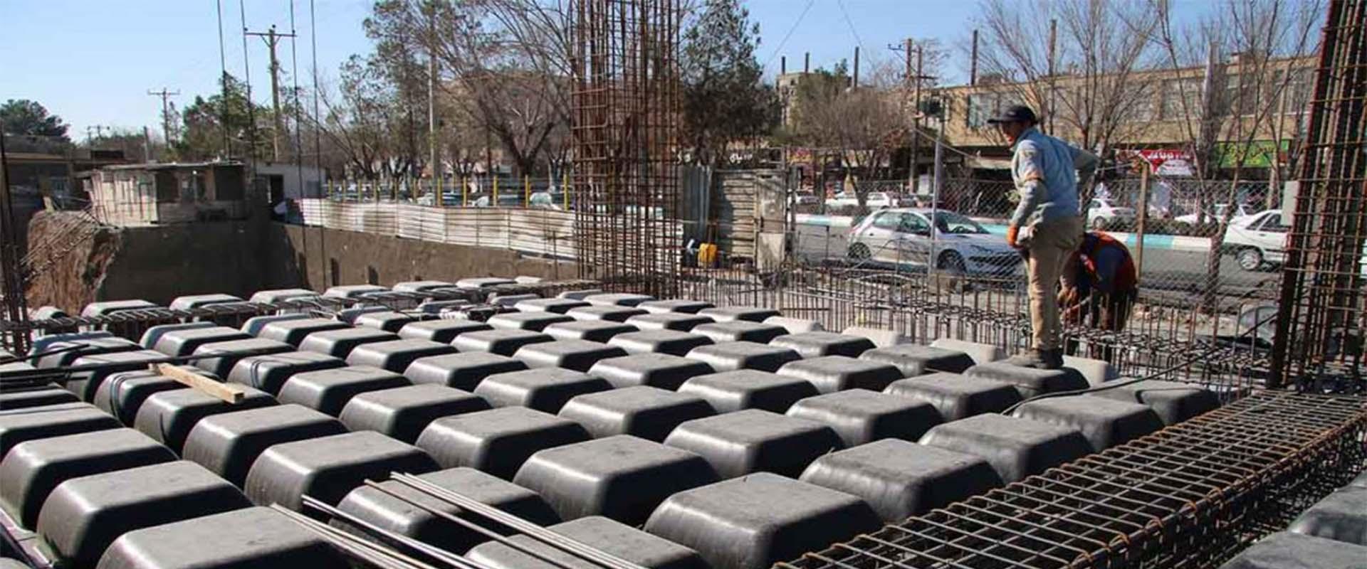 محاسبه میلگرد سقف ها در پروژه سقف وافل