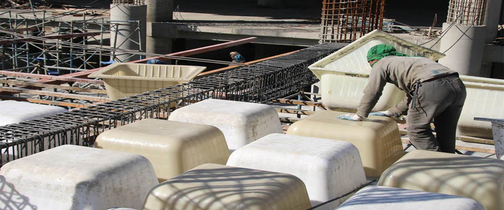فواید حذف تیر میانی و مزایای سقف وافل