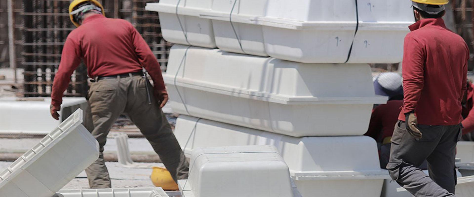 استفاده از سقف وافل در سازه های فلزی