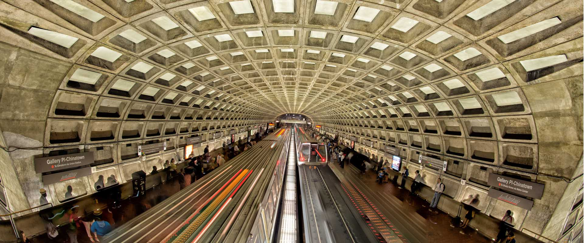 ایستگاههای مترو با سقف وافل