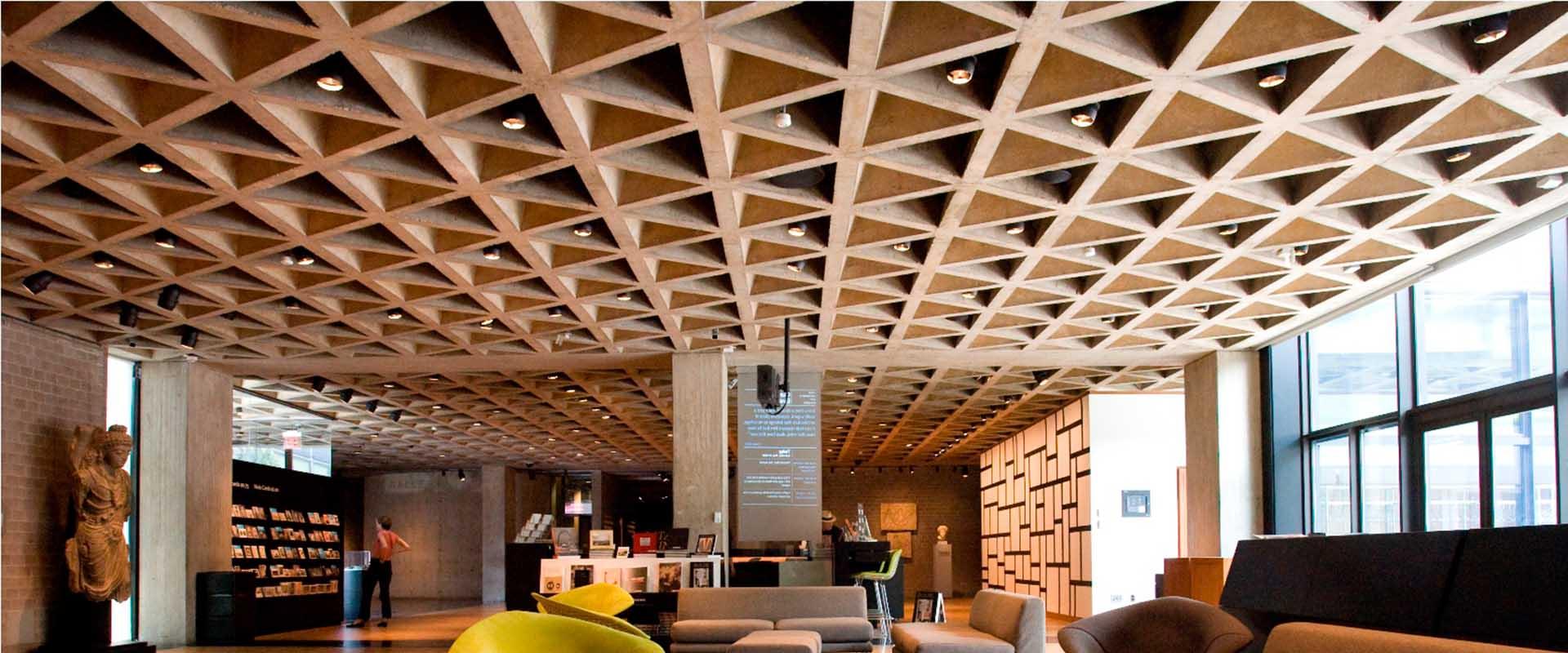 پروژههای مطرح ساخته شده با سقف وافل