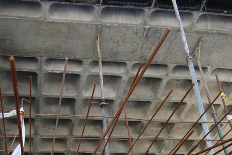 برای سازه های فلزی از سقف وافل می توان استفاده کرد
