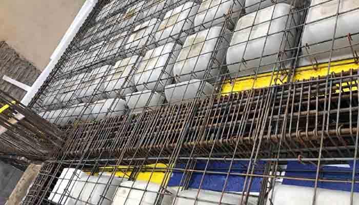 پروژه اجرایی سقف وافل اقاقیا تهران