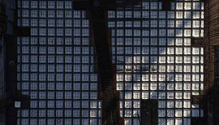 پروژه اجرایی سقف وافل برج سپید