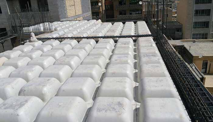 پروژه اجرایی سقف وافل خاتون سنندج