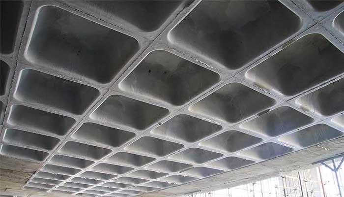 پروژه اجرایی سقف وافل رستوران طلایی