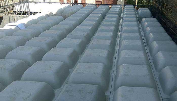 پروژه اجرایی سقف وافل سرو سنندج