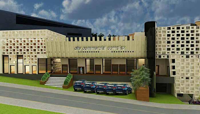 پروژه اجرایی سقف وافل شهر بازرگانی پردیس