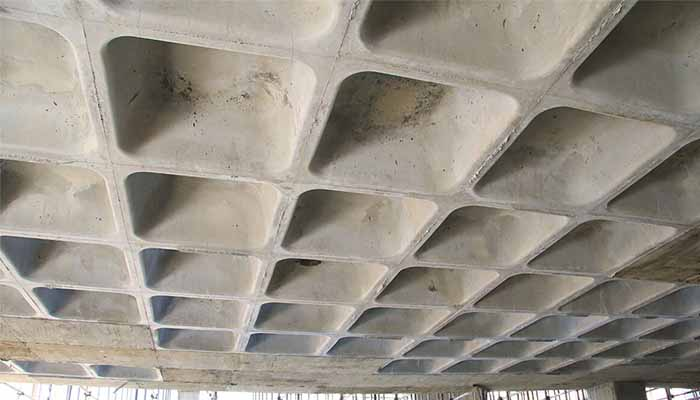 پروژه اجرایی سقف وافل ماهان قزوین