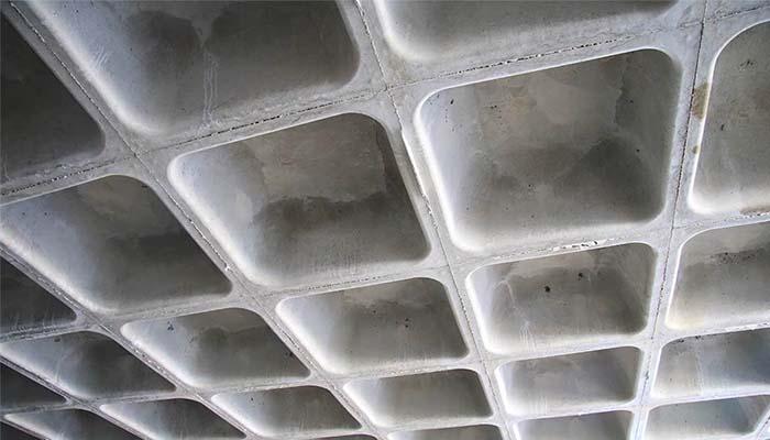 پروژه اجرایی سقف وافل مریم سنندج