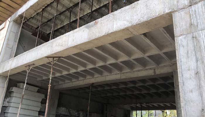 پروژه اجرایی سقف وافل مهتاب تهران