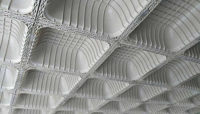 پروژه اجرایی سقف وافل مهستان سنندج