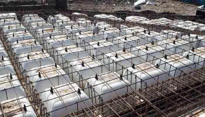 پروژه اجرایی سقف وافل موج گرگان