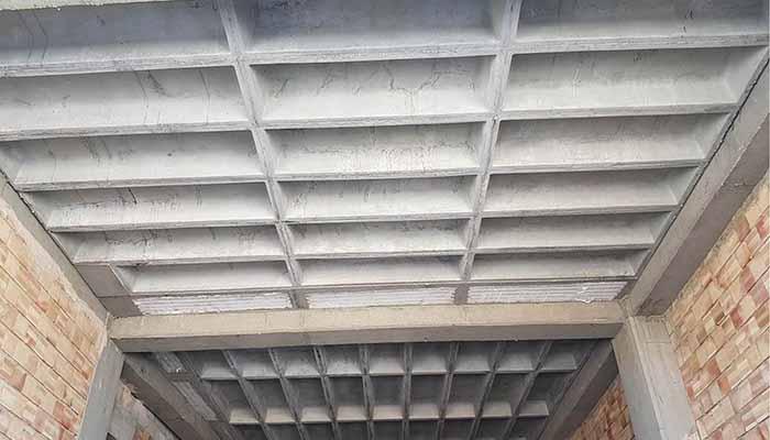 پروژه اجرایی سقف وافل میهن ارومیه