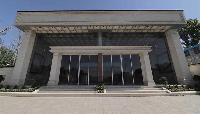 پروژه اجرایی سقف وافل نمایشگاه تهران