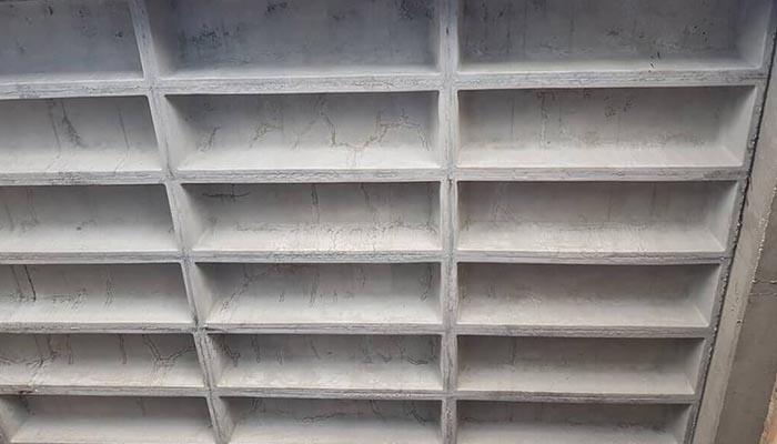 پروژه اجرایی سقف وافل وزین قزوین