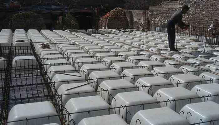 پروژه اجرایی سقف وافل چناران مشهد