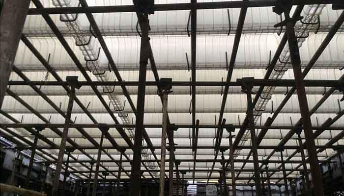 پروژه اجرایی سقف وافل کانون رایانه سرا