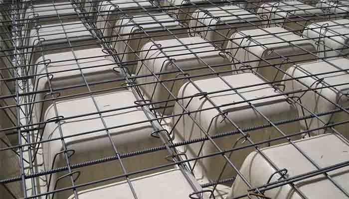 پروژه اجرایی سقف وافل گلبرگ مازندران