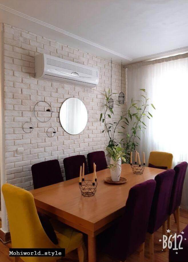 رنگ بخشیدن به دیوارهای خانه خود را به چیدمانه بسپارید