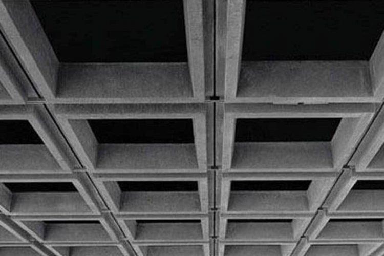 اندازه_ها در سقف وافل دو طرفه