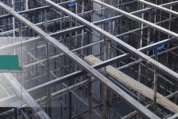 اندازه ها در سقف وافل یک طرفه سهند سازه بتن