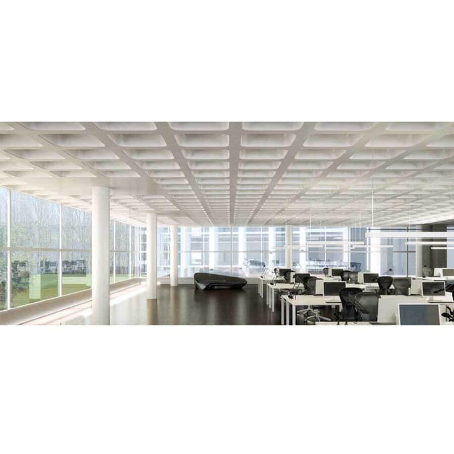 جزئیات فواصل طراحی سقف وافل