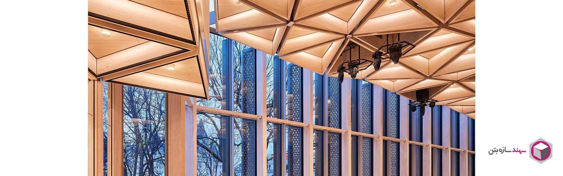 سقف پنجره ای