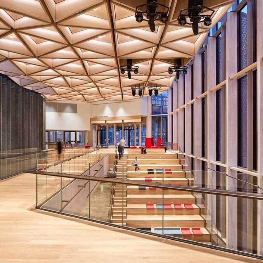 طراحی معماری سقف وافل
