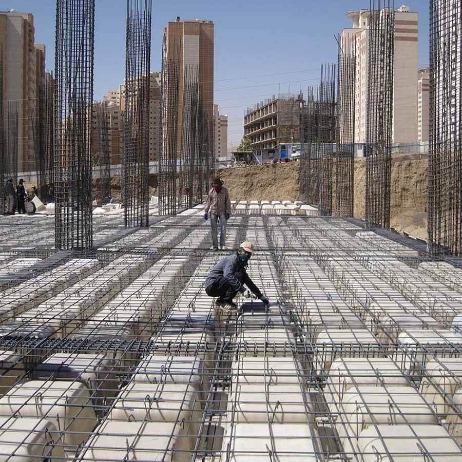 تولید و اجاره سقف وافل